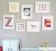 We've been updating Zoey's big girl room bit by bit, but the past few weeks we've knocked out several major to-do's that we can't wait to share! Some of those updates being a new (and mostly DIY'ed...