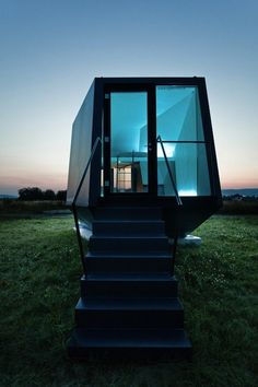 Hypercubus, a mobile hotel room. By Austrian architecture and design office, WG3.