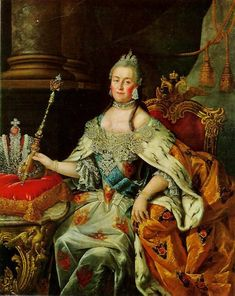 Catherine the Great. Born in Prussia, she married Tsar Peter III of Russia. Catherine aided in a coup to overthrow her husband, and was named Empress. He was killed. Her 35 year reign is considered the golden age of the Russian empire.