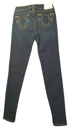 """True Religion Skinny Jeans. Free shipping and guaranteed authenticity on True Religion Skinny Jeans at Tradesy. True Religion  Fit: Halle Size: 27 Inseam: 30"""" ..."""