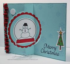 Sizzix Die Cutting Inspiration and Tips: Die Cutting Paper: Merry Christmas Flip-It Card