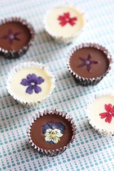 flower chocolate