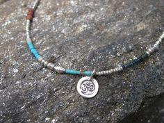 Om Symbol Balance Necklace