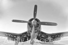 Vought Corsair F4U Vintage Fighter-Bomber WWII by AerieImages