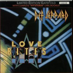 "For Sale - Def Leppard Love Bites UK  7"" vinyl single (7 inch record) - See this and 250,000 other rare & vintage vinyl records, singles, LPs & CDs at http://eil.com"