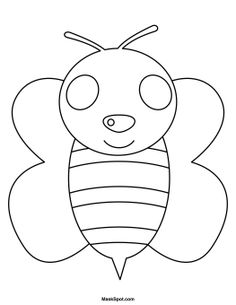 Bee Mask to Color
