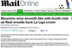 Así resume la prensa el título del Real Madrid