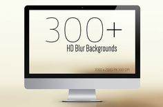 300+ Premium Blurred Backgrounds by Symufa on @creativemarket
