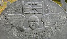 New England Gravestone Angel