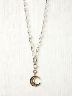 Moon Crystal Rosary by Love Heals