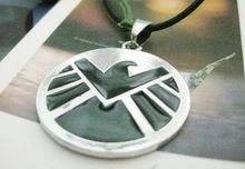 Agents of S.H.I.E.L.D. necklace shield badge pendant Marvel The Avengers logo sign movie jewelry for men and women wholesale //Price: $US $1.66 & FREE Shipping //    #capitainamerica #capitãoamerica #marvel #avenger