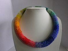 """Wickelkette  """"Regenbogen"""" von sibea auf DaWanda.com"""