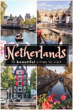 10 charming and Incredible cities in the Netherlands and the most beautiful places to Visit in the Netherlands, Europe you should know about. Looking for the best of hidden gems, Dutch attractions, and destinations for first time visitors? Here's a guide Voyage Europe, Europe Travel Guide, Europe Destinations, Travel Info, Travel Tips, Travel Goals, Europe Places, Travel Hacks, Travel Bag