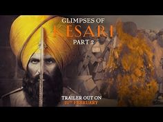 """Actor Akshay Kumar shared the first glimpse of his upcoming film """"Kesari"""", which is based on the Battle of Saragarhi where 21 Sikhs fought against Afghans in we can see a close up of Akshay as Ishar Singh who looks absolutely intense. Akshay Kumar, Yash Johar, Dharma Productions, Parineeti Chopra, Watch Tv Shows, Upcoming Films, Tv Shows Online, Movies 2019, The Visitors"""
