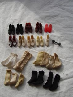VTG Large KEN DOLL Shoe Sock LOT Japan