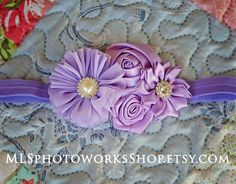 Lovely Layers of Lavender Satin & Chiffon by MLSPhotoWorksShop