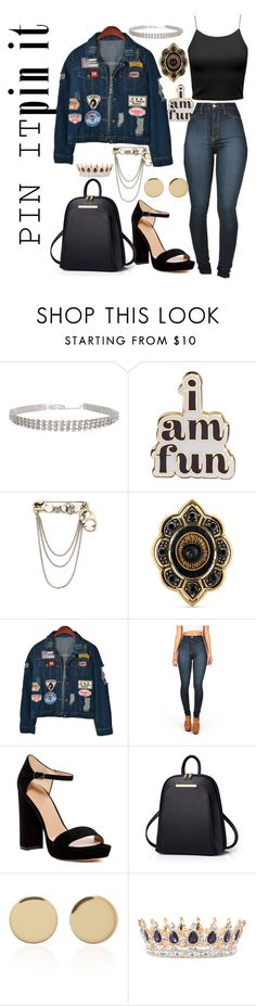 """""""pin it hard"""" by be-the-1 ❤ liked on Polyvore featuring ban.do, Marc Jacobs, Gucci, Chicnova Fashion, Vibrant, Pour La Victoire and Magdalena Frackowiak"""