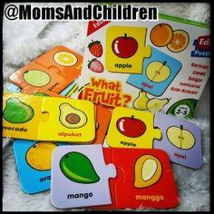 Puzzle Edukasi | EduPuzzle : What Fruit? Belajar mengenal berbagai macam buah-buahan secara cukup lengkap....tidak hanya bagian utuhnya tapi juga bagian dalamnya! Contact us : Line@ : @MomsAndChildren whatsapp : 083897632306 BBM : 769432FC Cereal, Puzzle, Fruit, Food, Puzzles, The Fruit, Meals, Yemek, Corn Flakes
