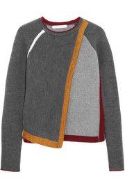 J.W.Anderson Wrap-effect wool-blend sweater