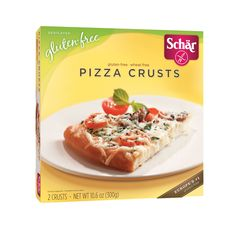 Schar Pizza Crusts, 10.6 Oz (Pack of 8)