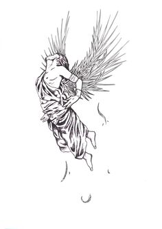 Image result for icarus sun tattoo