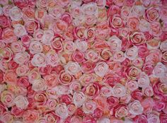 Pink Flower Wall | The Flower Wall Company: For the girlie girl