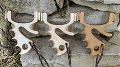 Custom Made Ergo-Cat slingshot Multiplex by EGhandmadeslingshots