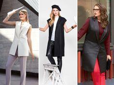 С чем носить жилет: модные тенденции осени 2015