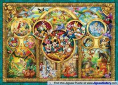 Cute Disney jigsaw puzzle.