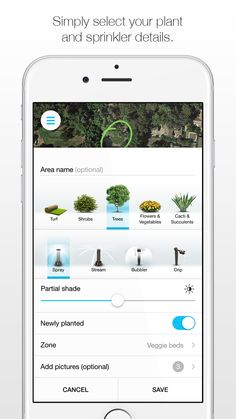 Learn instantly how much water you can be saving outside. The Unity app from ETwater is simply designed so that you pick your plants, sprinkler details and how much sunlight the area gets. Download free from your App Store today.