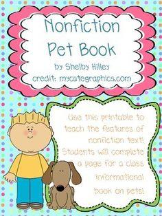 Pet Nonfiction Book