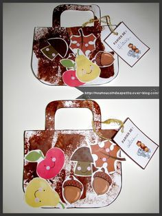 .. Panier d'automne .. Autumn Activities, Craft Activities, Diy Paper, Paper Crafts, Fall Preschool, Halloween 1, Autumn Crafts, Tree Patterns, Autumn Theme