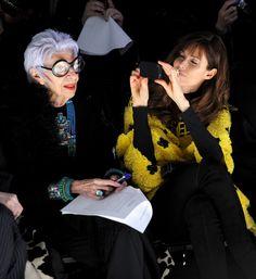 Iris Apfel Photos: Joanna Mastroianni - Front Row - Fall 2012 Mercedes-Benz Fashion Week