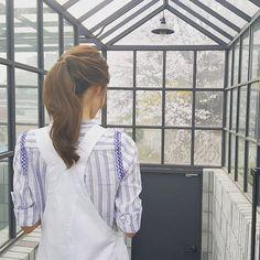 Cherry blossoming #융스타그램 by yoona__lim