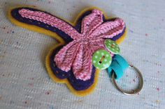 DRAGONFLY KEYCHAIN by lepemalestvari on Etsy Etsy Store, Crochet Earrings, Wings, Ribbon, Wool, Tape, Treadmills, Band, Ribbon Hair Bows