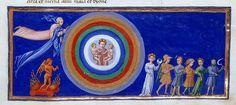 Giovanni di Paolo, Paradiso Sette sfere