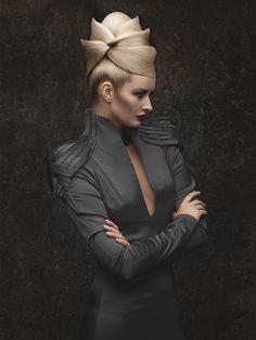 Avant garde hair #futuristic #hairstyle #modern #hairdo