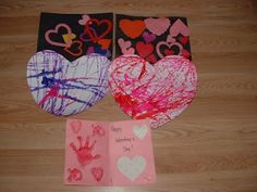 We made heart collages this week in pre-k for Valentine's Day.