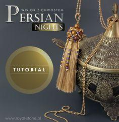 Persian Nights – Chwost z koralikową czapeczką – tutorial