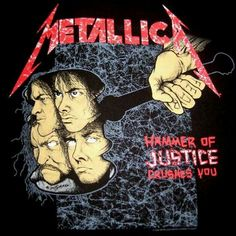 I have the Metallica shirt with this on the back.