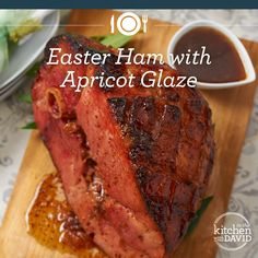 Easter is just around the corner & I have a festive new recipe for Easter Ham with an Apricot Glaze.