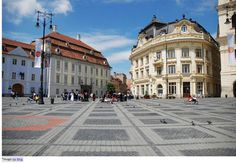 Big Square (Piata Mare)  This is one of the most happening places in Sibiu where the City hall surrounds one side of the square while shops and restaurants border the other two. The fountain in the center magnifies the liveliness of the place.