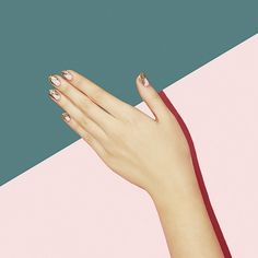 Glitter nails // Paintbox Spring '15 Collection #nail #nailart #glitter