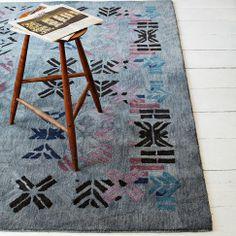 Alyson Fox Stencil Wool Rug | west elm
