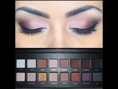 My everyday eye makeup using Lorac Pro Palette