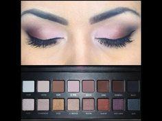 My everyday eye makeup using Lorac Pro Palette