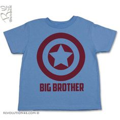 Captain America Big Brother Or Little Brother T-Shirt