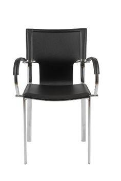Eurø Style Vinnie Leather Dining Chair with Chromed Base,... https://www.amazon.com/dp/B0043TMJ6M/ref=cm_sw_r_pi_dp_x_-Zv8yb4YTK17E