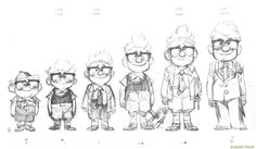 Awesome Character Designs by Lou Romano http://louromano.blogspot.com/2009/05/art-of-up_3697.html