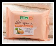 Soft Apricot Cleansing Facial Wipes Beauty Formulas, Health And Beauty, Cleanse, Moisturizer, Skin Care, Facial, How To Make, Beauty Stuff, Food
